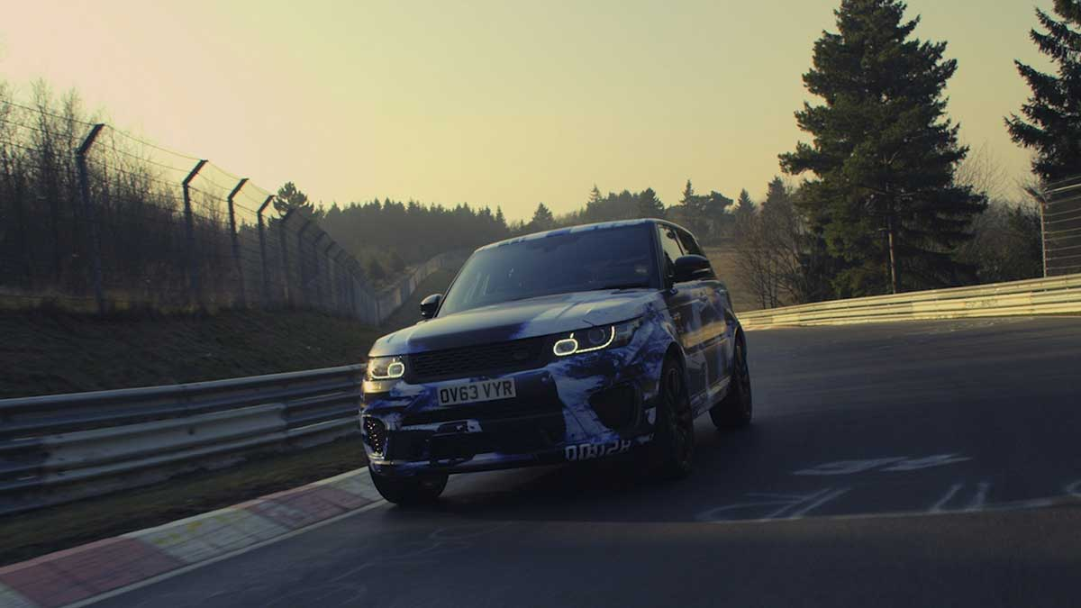 Range Rover Sport on the Nurburgring