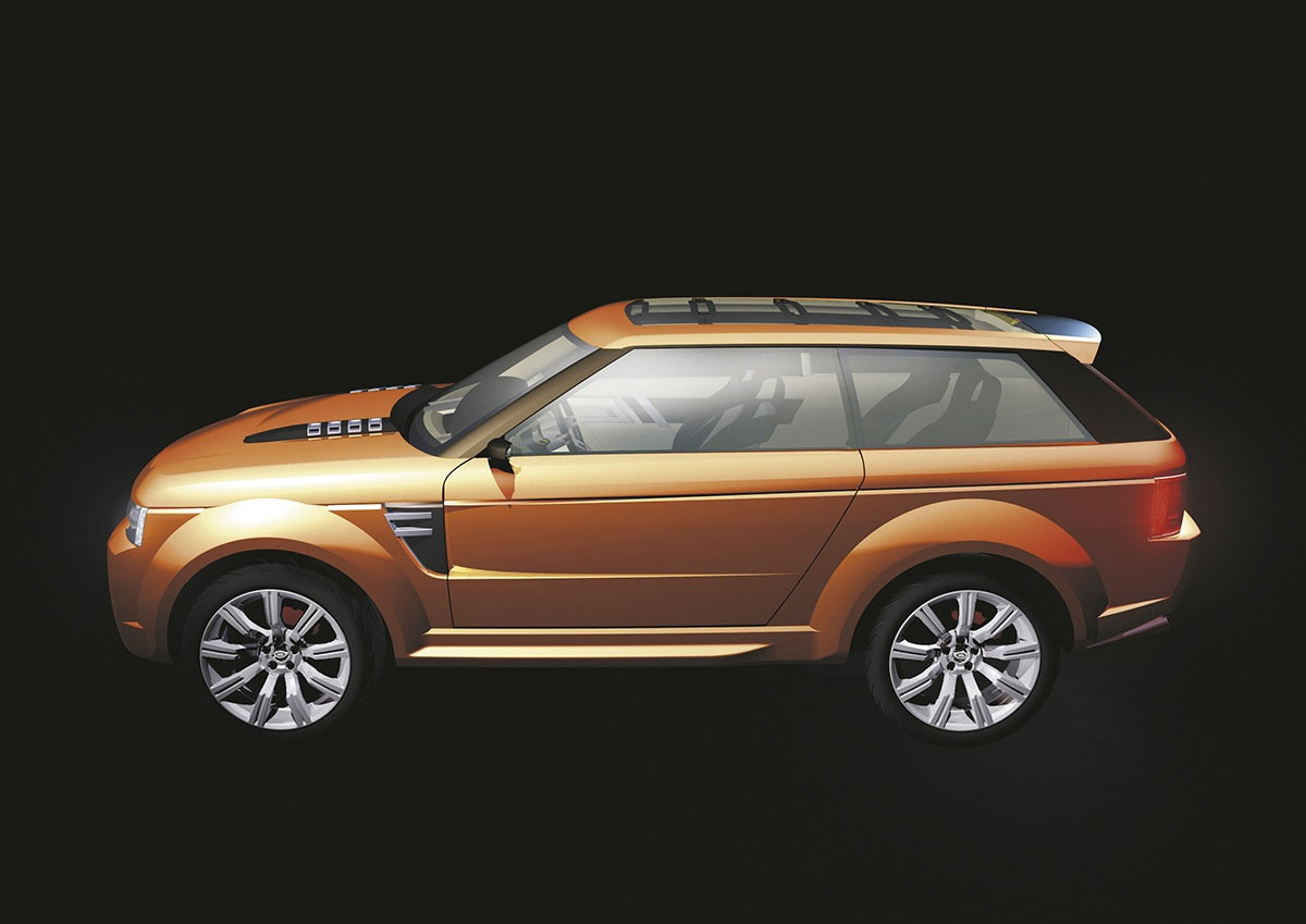 sketch of the Range Rover Stormer