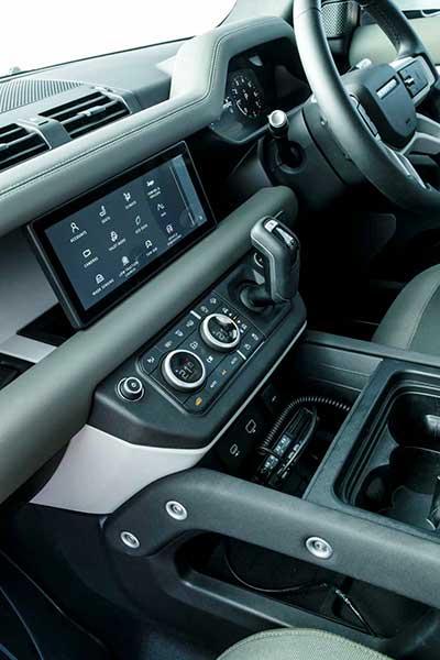 New Land Rover Defender Interior