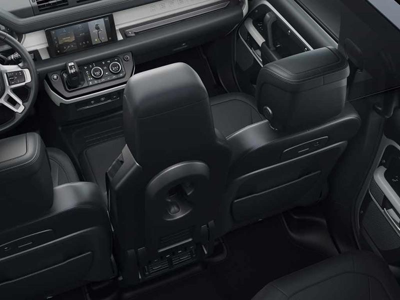 New Land Rover Defender Interior Promo Shot