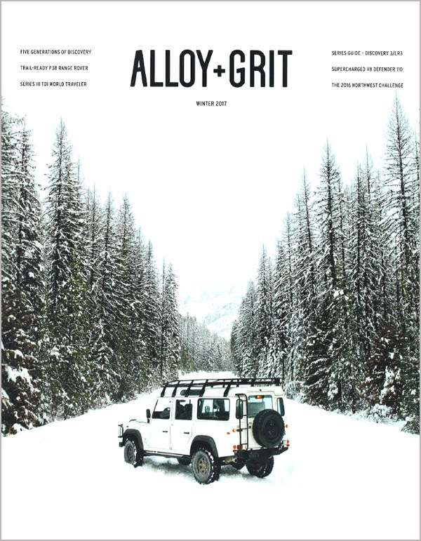 Alloy And Grit Winter 2016 - 2017