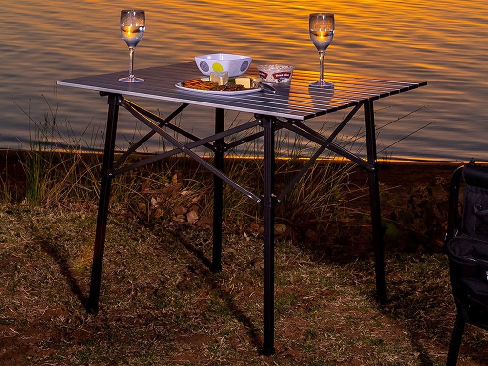 aluminum camp table by arb