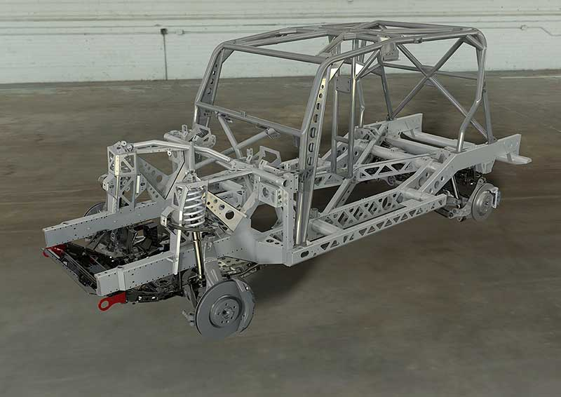 chassis for the new Bowler CSP575