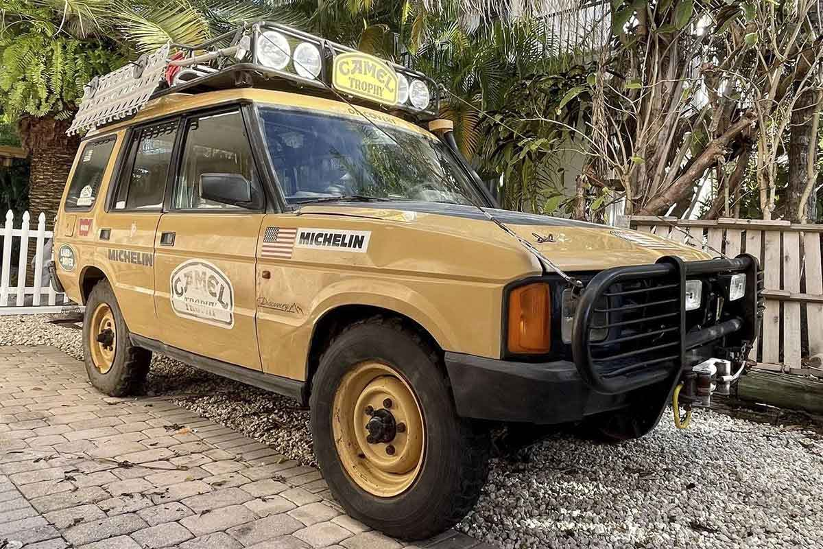 1992 Camel Trophy Discovery for sale