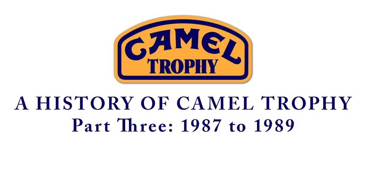 Camel Trophy logo with header text