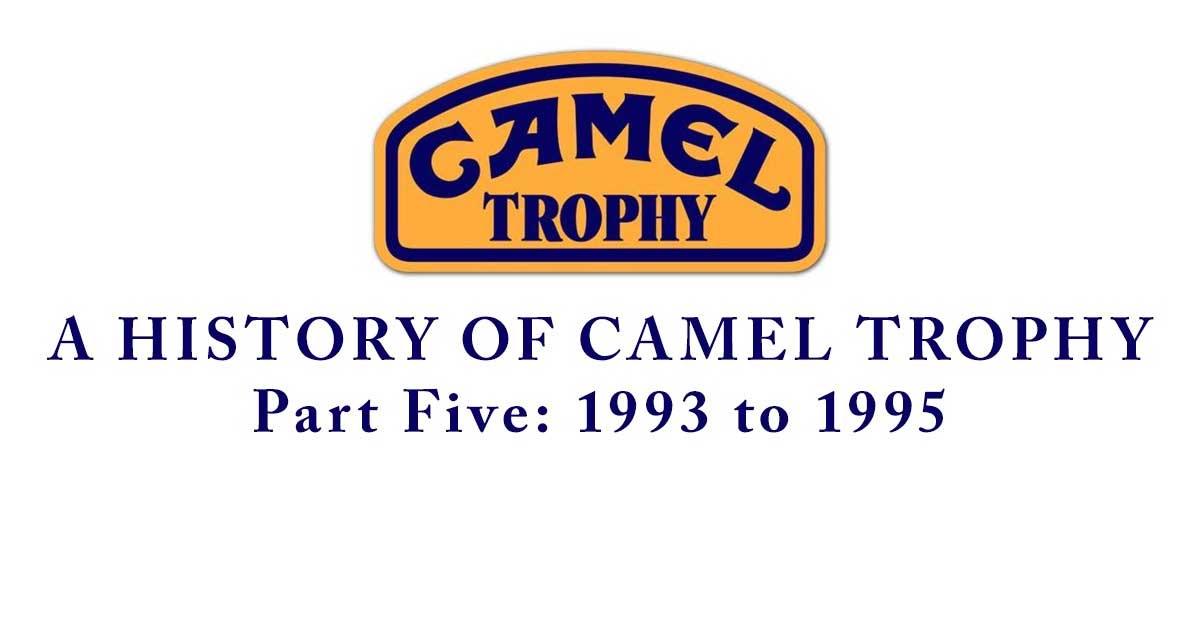 Camel Trophy Series header - 1993-1995