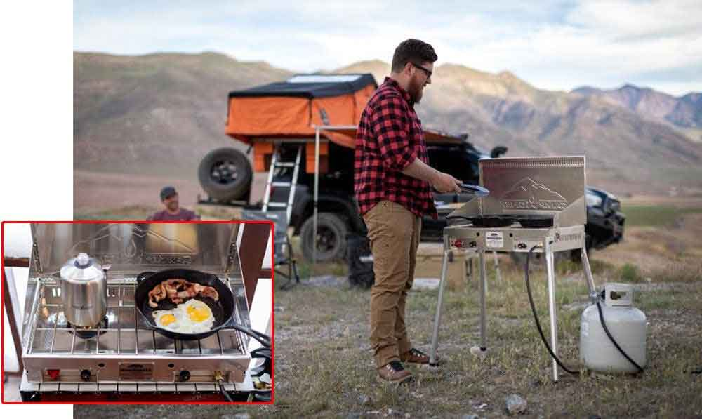 camp chef aluminum mountaineer stove