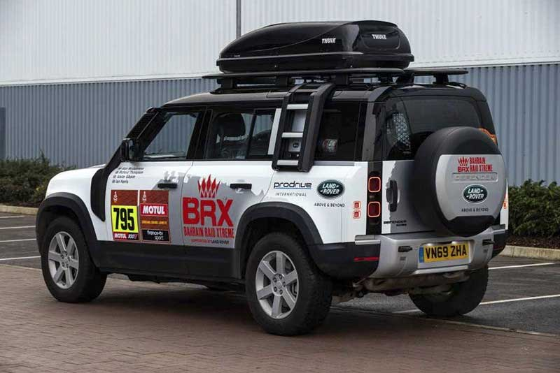 Defender ready for Dakar Rally