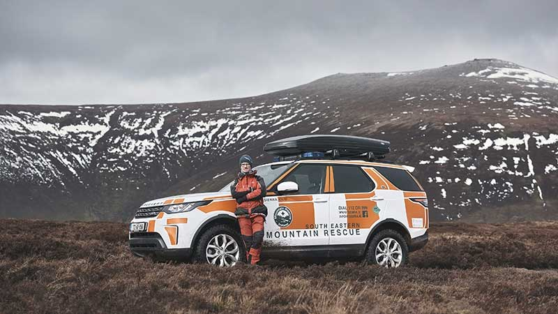 Land Rover Discovery 5 mountain rescue model