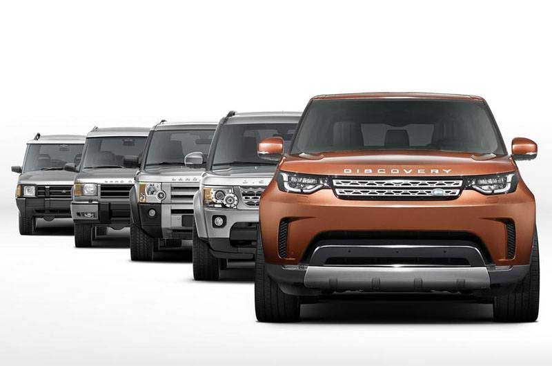 Land Rover Discovery Generations Shot