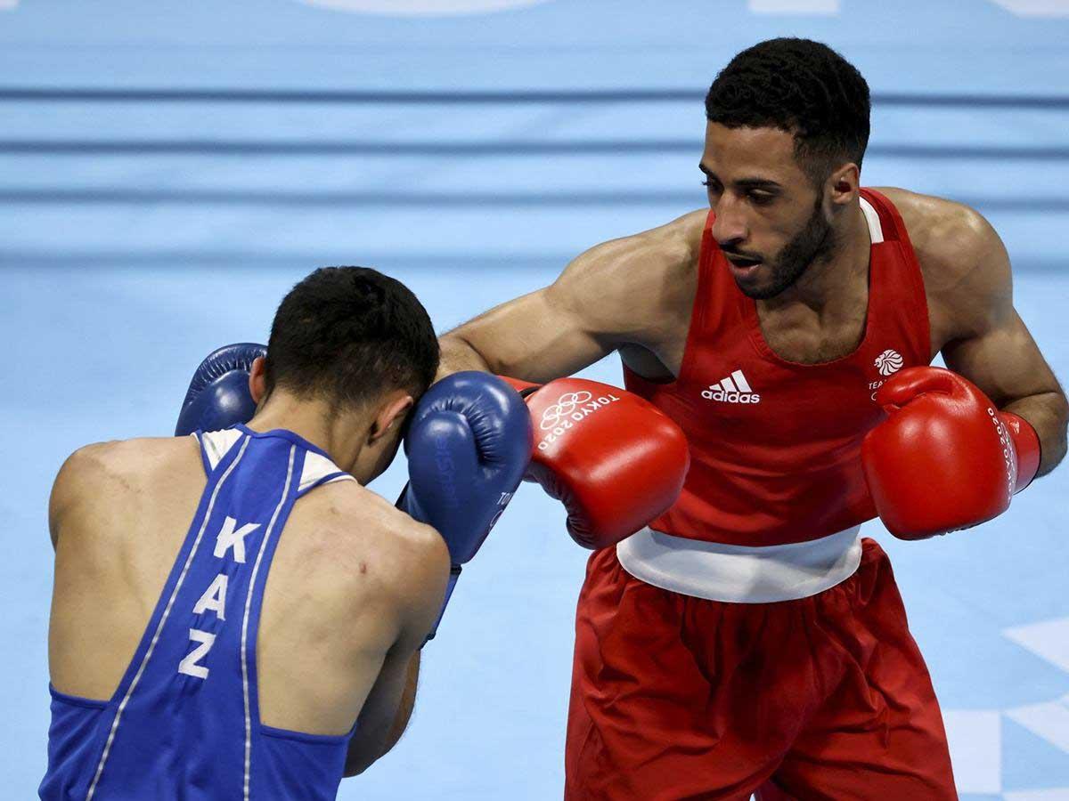 Galal Yafai boxing