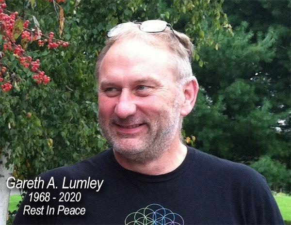 Gareth Lumley rest in peace