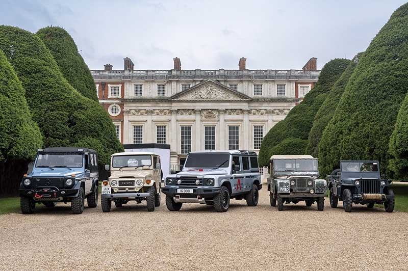 Ineos collection of great 4x4s
