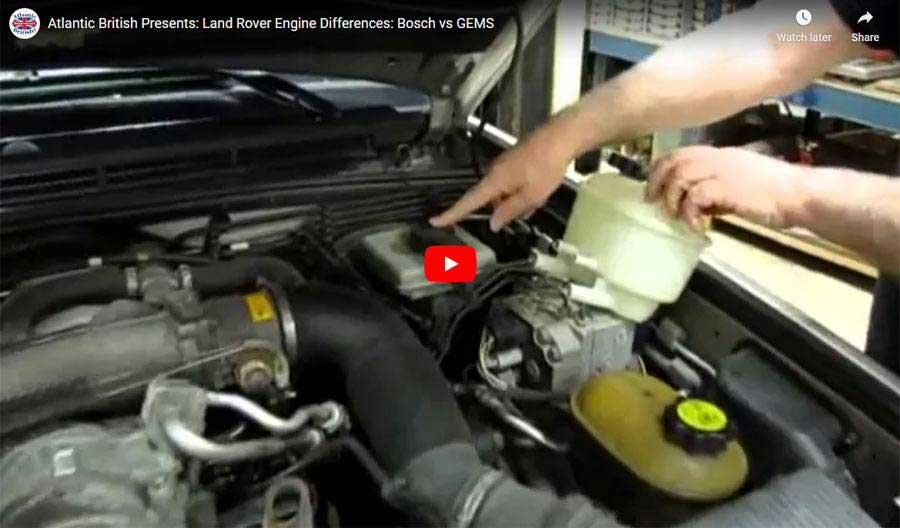 BOSCH vs GEMS Engine Video