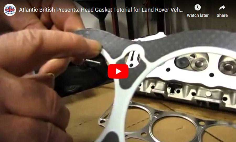 rover head gasket overview guide video