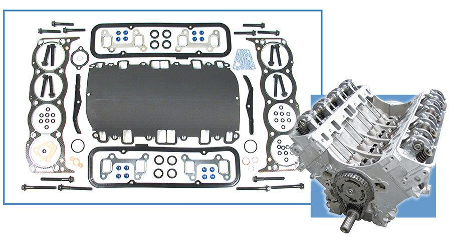 Land Rover engine and head gasket set