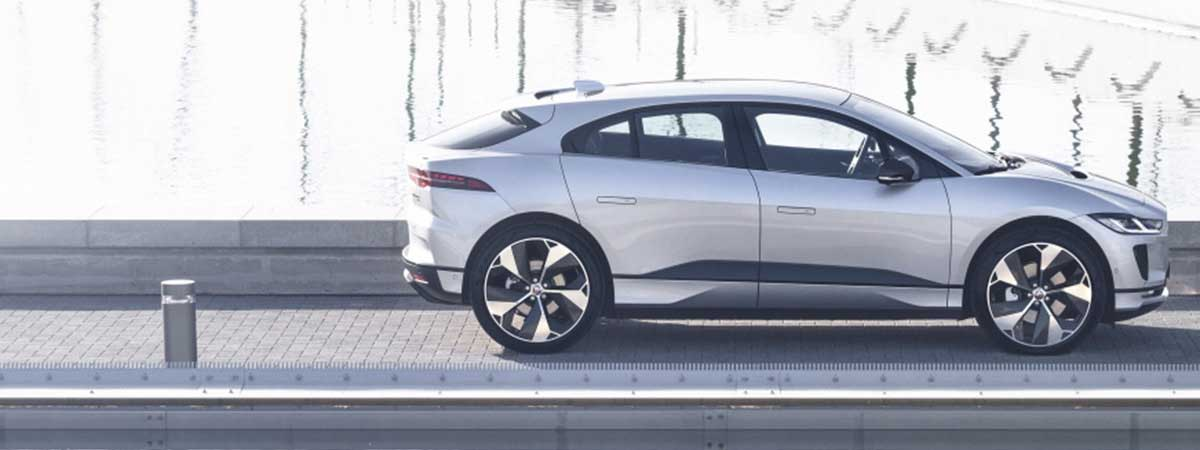 an all Electric Jaguar I Pace