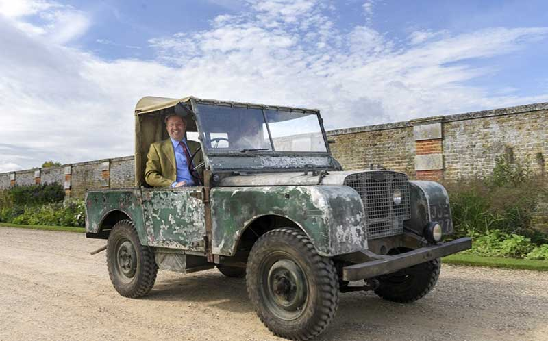 restored first production Land Rover Series I