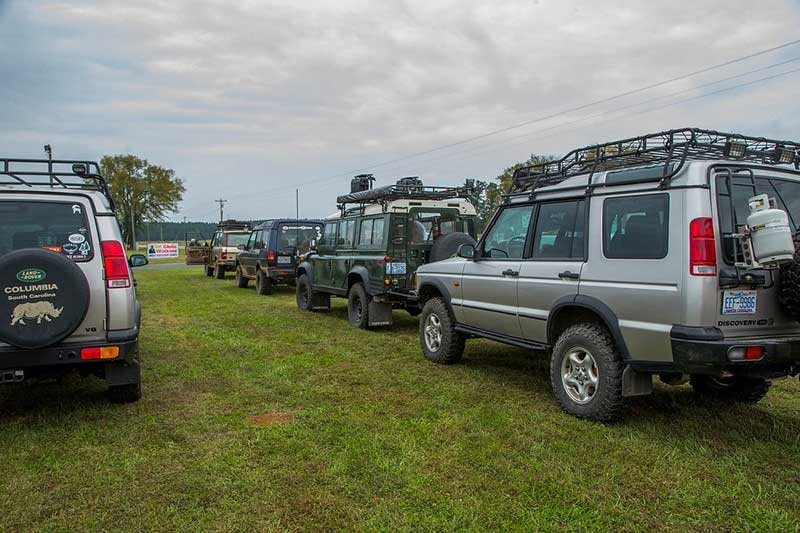 Event Report URE Land Rover lot