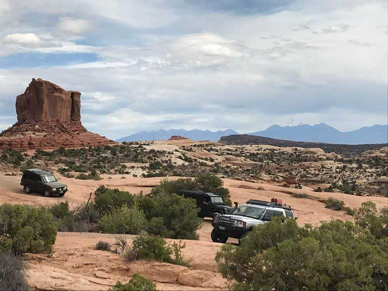 Land Rover National Rally In Moab