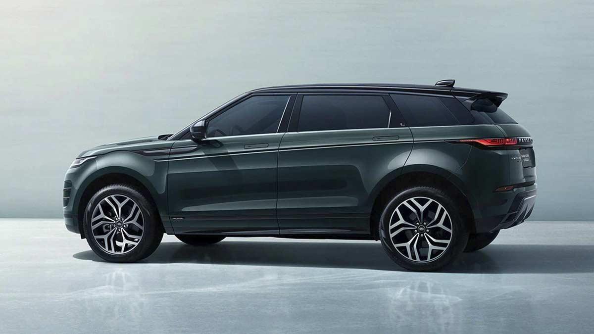 new long wheelbase Range Rover Evoque L