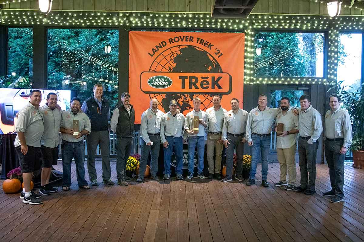 Land Rover TRek 2021 Finalists
