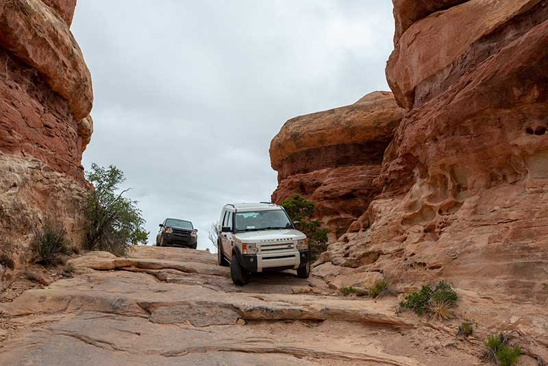 Elephant Hill Stairs In Moab