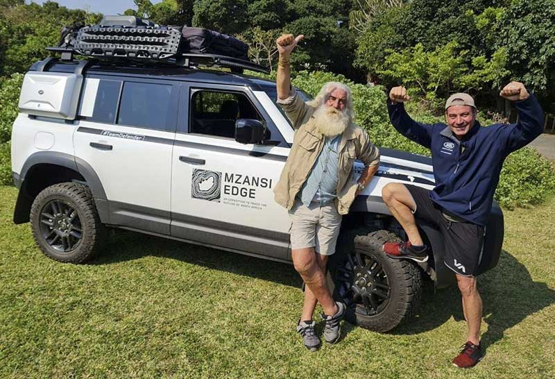 team ready for expedition around South Africa