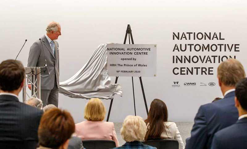 Prince Charles opens National Automotive innovation center