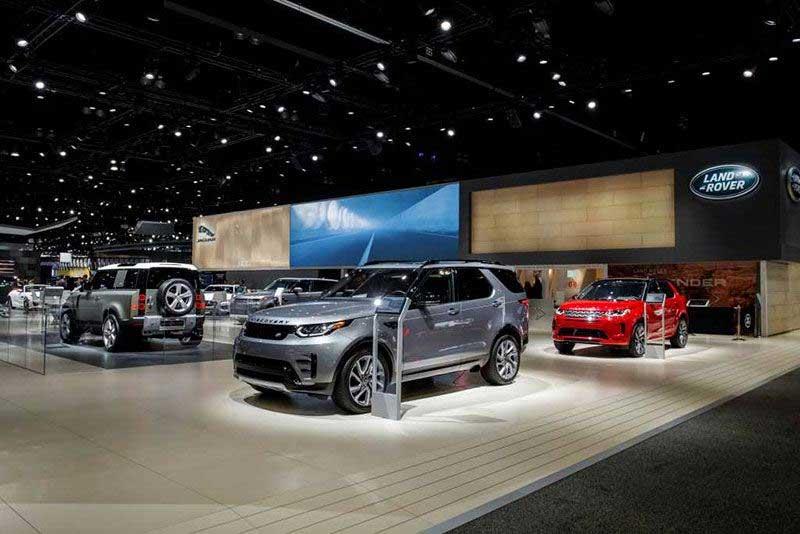 2020 Land Rover Fleet