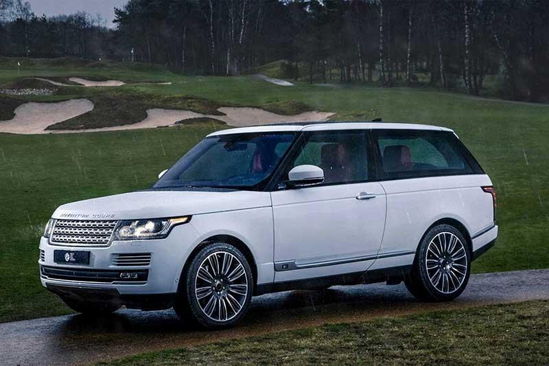 Niels van Roij Range Rover Coupe Promo shot