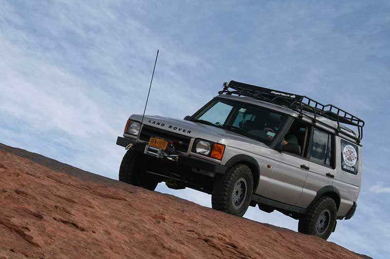 Overlanding Essentials Moab Action Shot