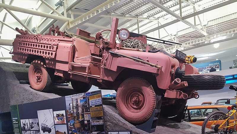 Land Rover Pink Panther Showcase