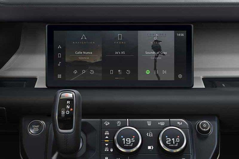 Pivi Pro Infotainment System In Land Rovers