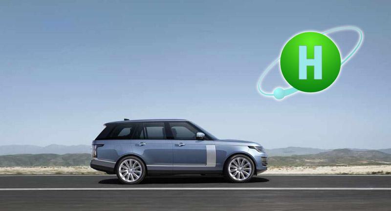 Range Rover Hydrogen vehicle