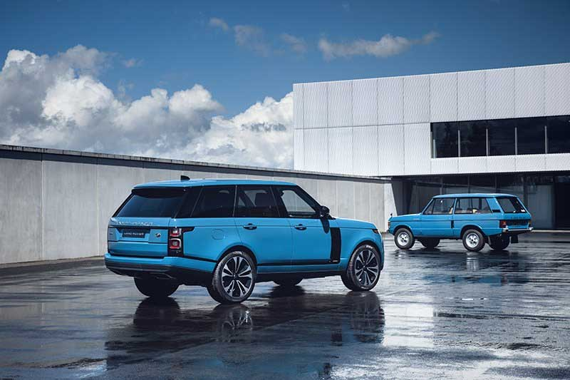 Range Rover Sport new models fifty edition