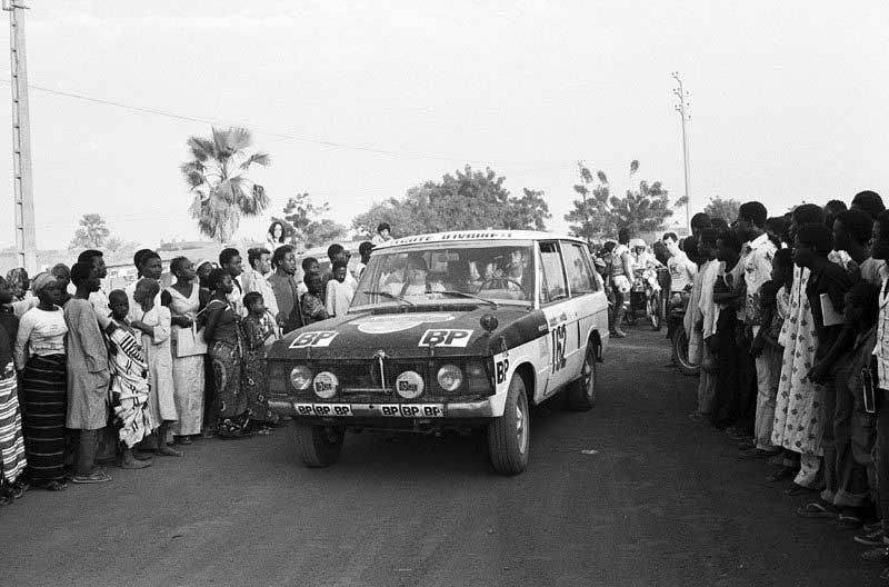 Range Rover At Dakar 1979