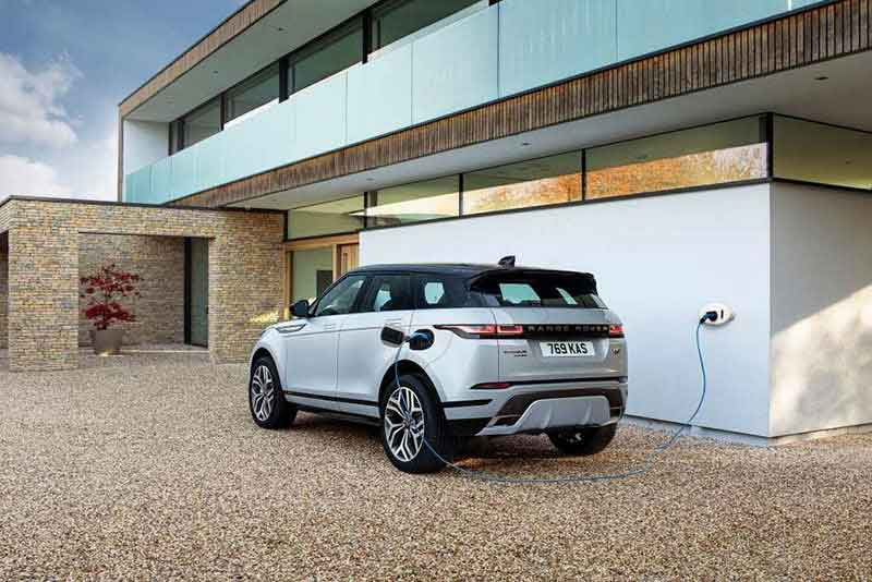 Range Rover Sport electric vehicle (EV)