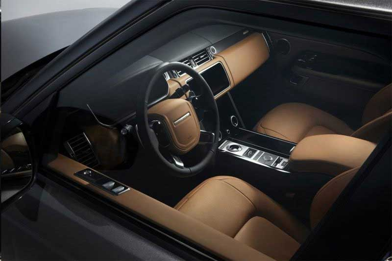 Range Rover Fifty interior trim