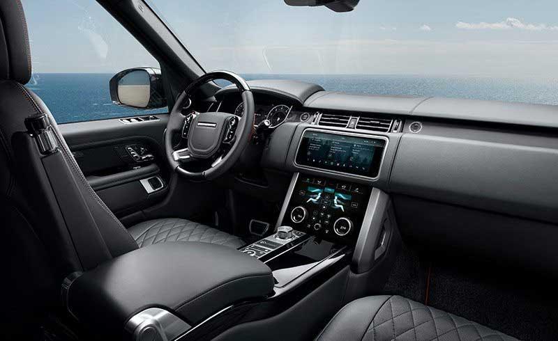 Range Rover Sport 2021 SVA in black
