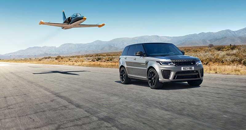 Range Rover Sport 2021 SVR - carbon with plane