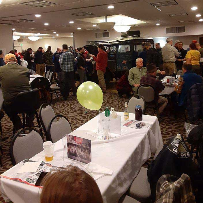 Oxford On Display At Winter Romp Opening Banquet