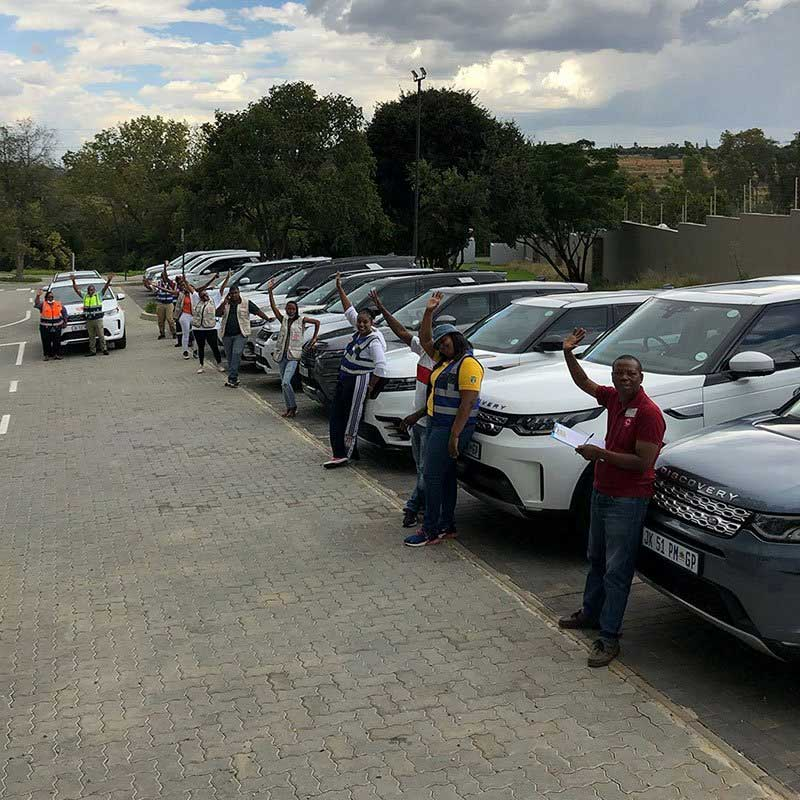 Land Rover's COVID Response In South Africa